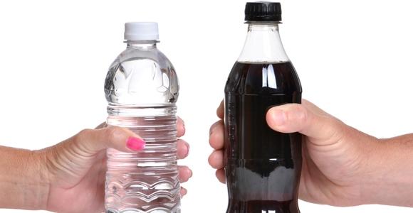 water or diet soda?