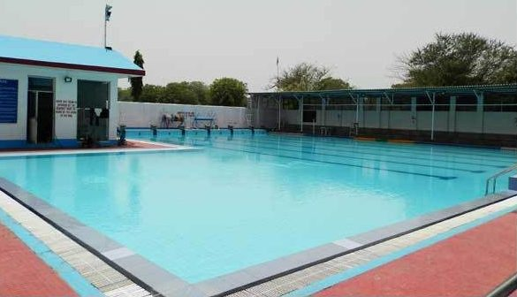 khazan singh swimming academy: swimming pool in delhi