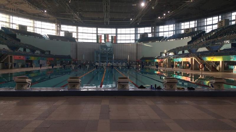 shyama prasad mukherjee swimming pool complex : best swimming pool in delhi