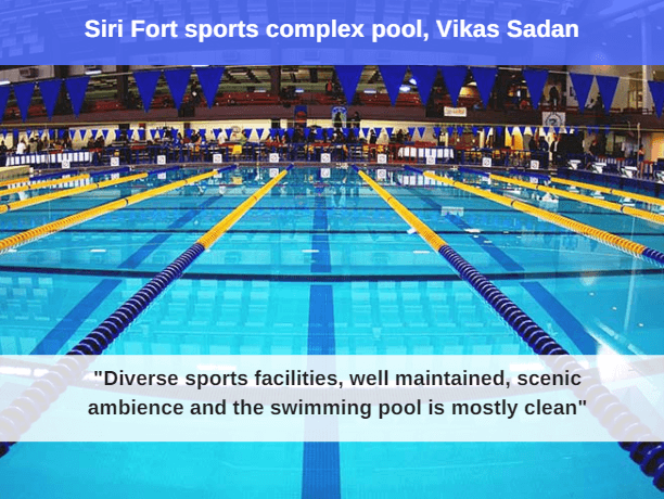 10 Best Swimming Pools In Delhi Facilities Price Fitso