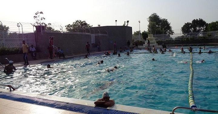 Netaji Subhash Sports Complex : best swimming pool in delhi