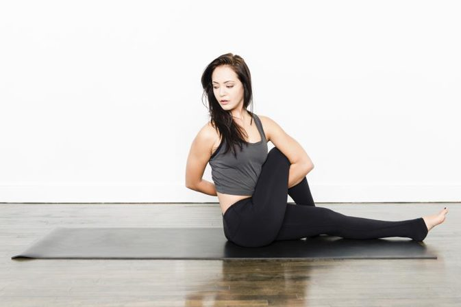 hold breath during stretching