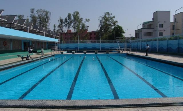 dps rk puram swimming pool : best swimming pool in delhi
