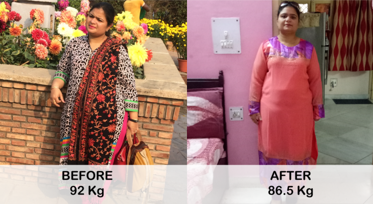 Deepika Sharma - 5 Kg in a Month