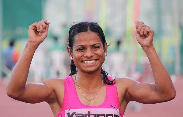 indian runner record holder dutee chand