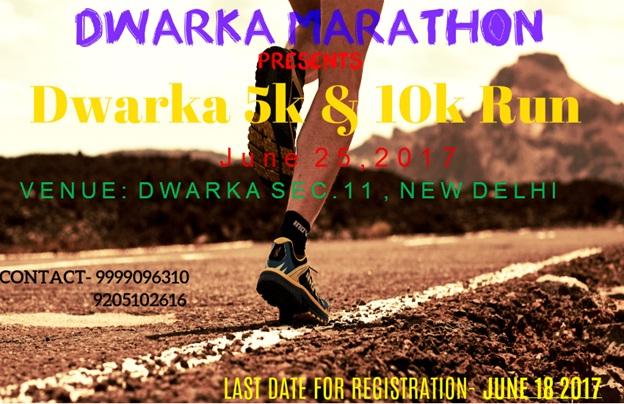dwarka marathon : delhi running events