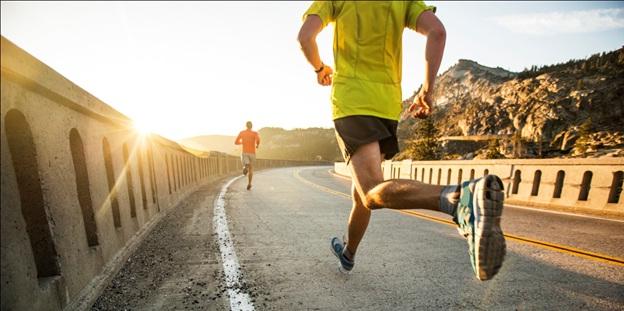 go for early morning runs