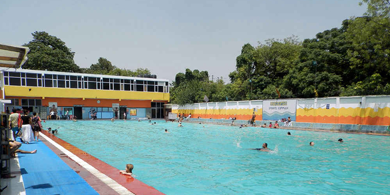 pacific sports complex : best swimming pool in delhi
