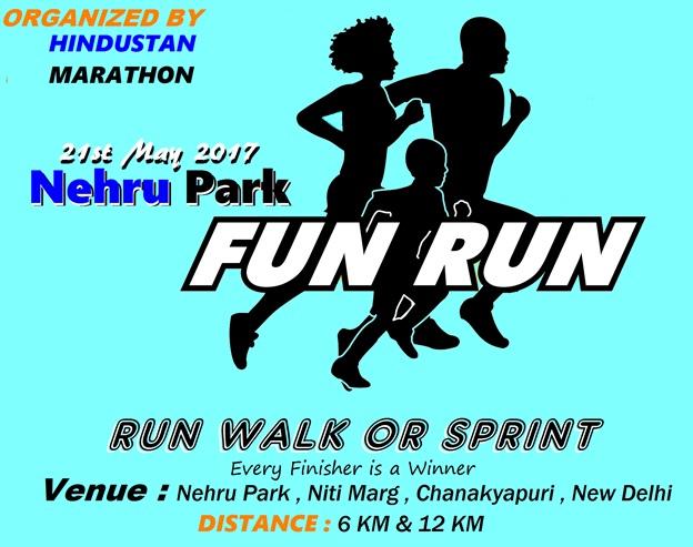 fun run : running events in delhi