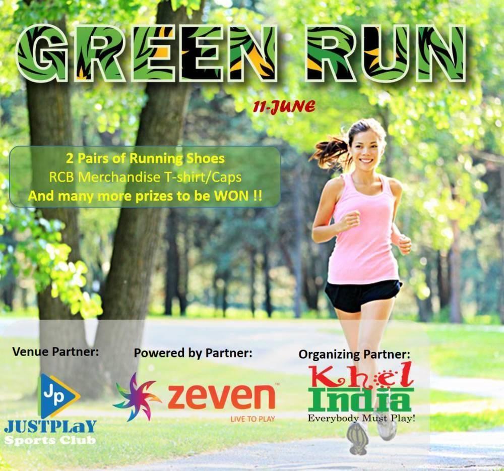 green run running events in bangalore