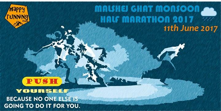 Malshej Ghat Monsoon Half Marathon 2017