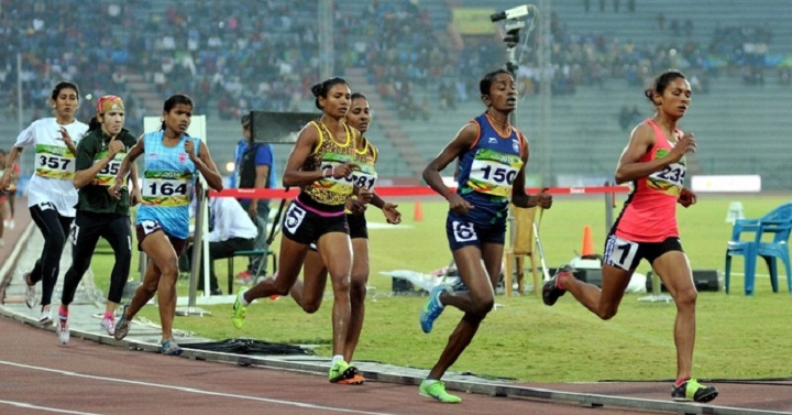 national records in running - women