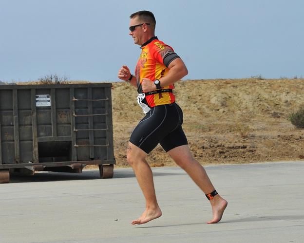 runner barefoot : fitso