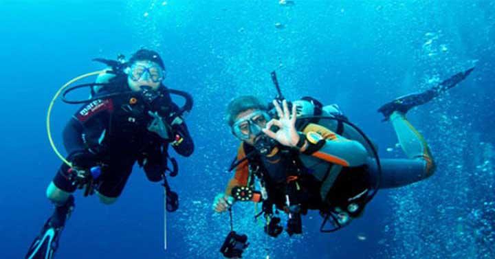 scuba diving sports in goa