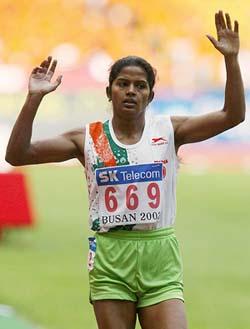 running record holder sunita rani