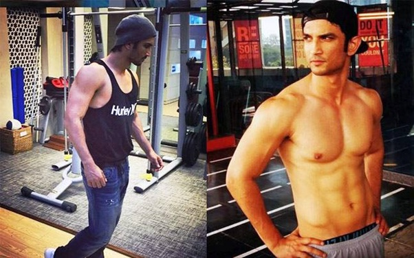 sushant singh's workout