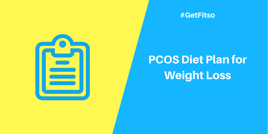 PCOS Diet Plan for Weight Loss - Sample 1
