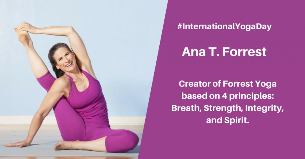 Ana T Farroest - best female yoga instructor