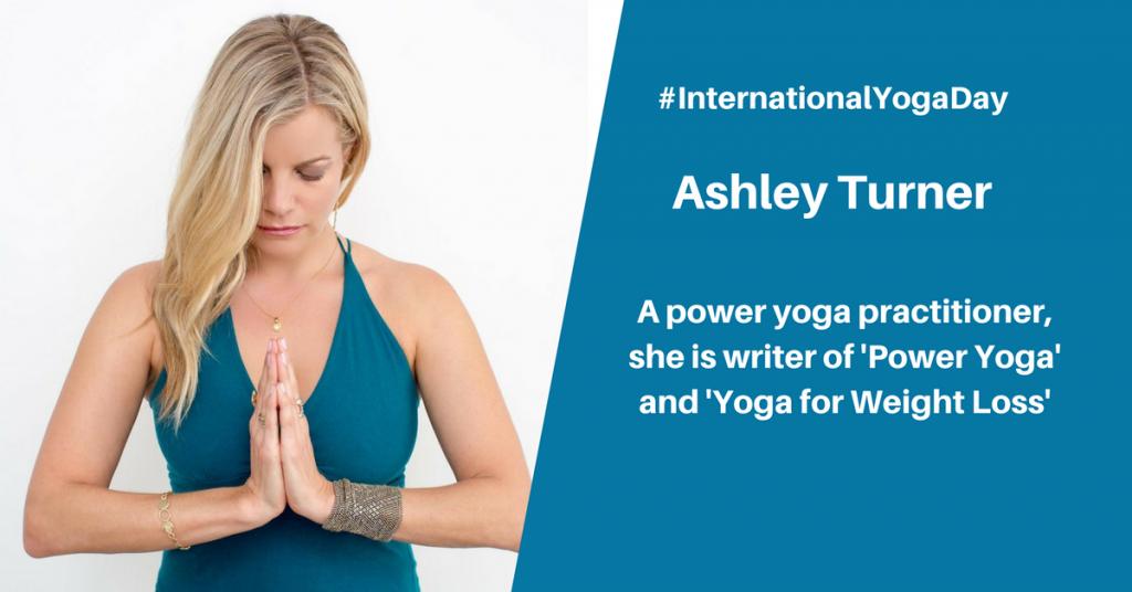 Ashley Turner - best female yoga instructor
