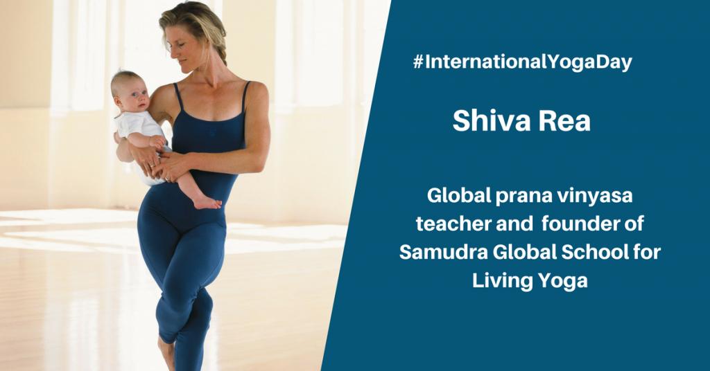Shiva Rea - best female yoga instructor