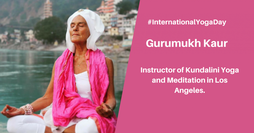 Gurumukh kaur Khalsa - best female yoga instructor