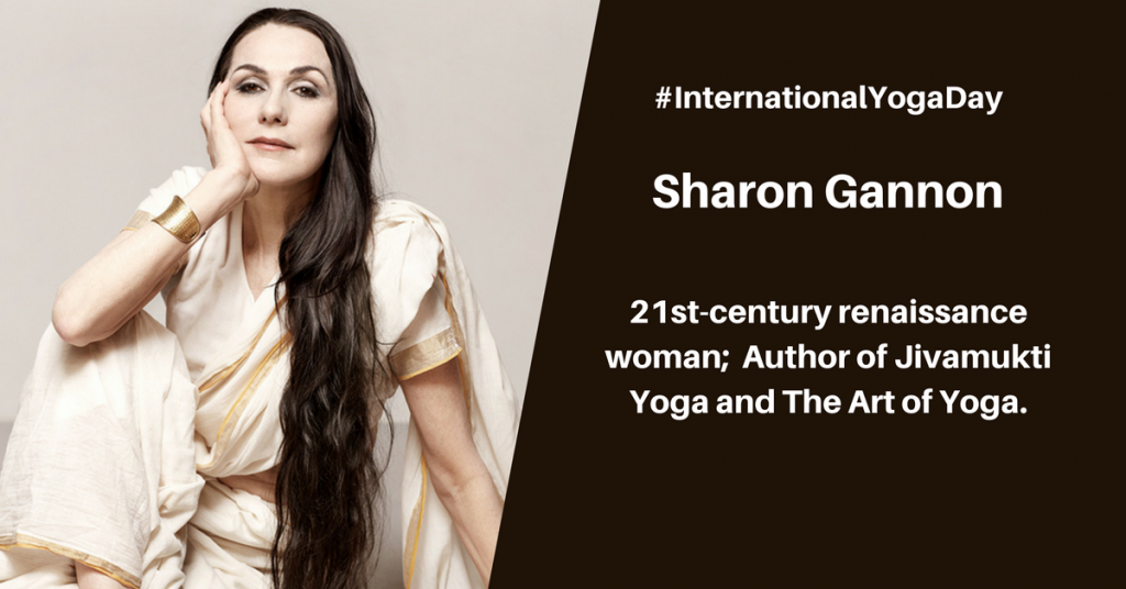 Sharon Gannon - best female yoga instructor