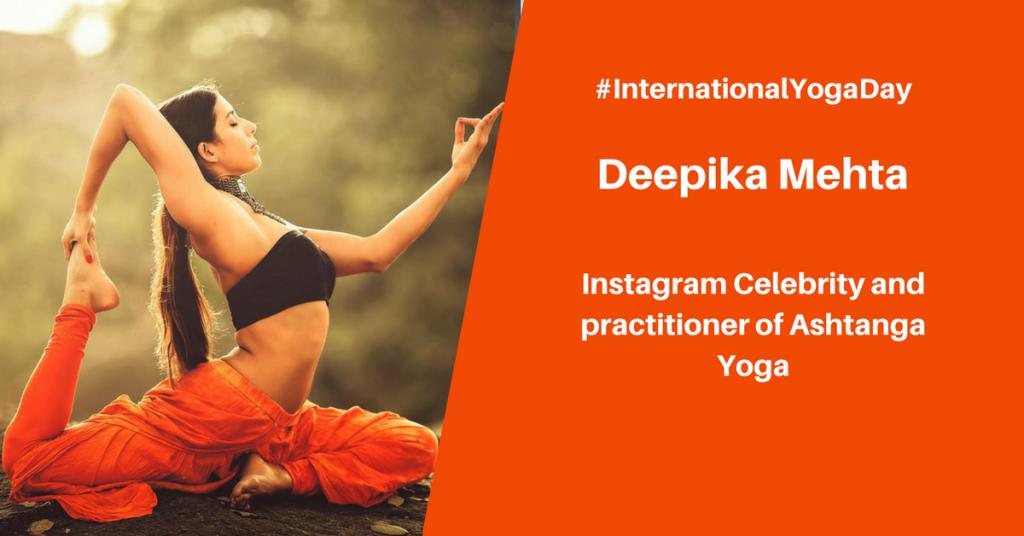 Deepika Mehta - best female yoga instructor