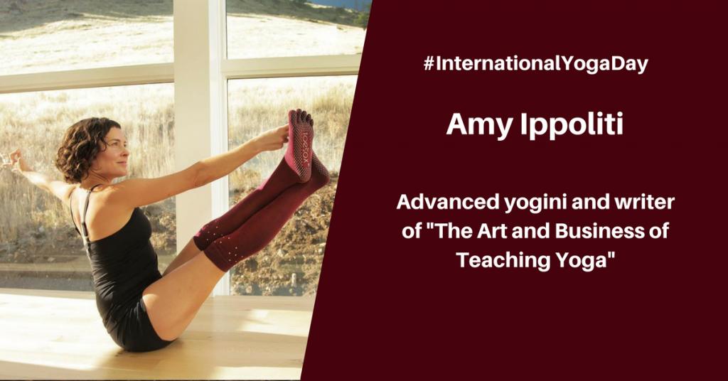 Amy Ippoliti - best female yoga instructor