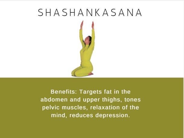 Shashankasana- Ramdev baba yoga for weight loss