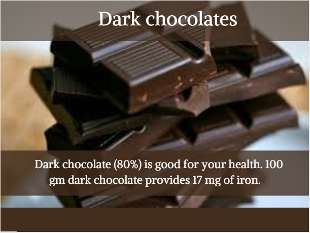Dark Chocolate - Indian protein Rich food options