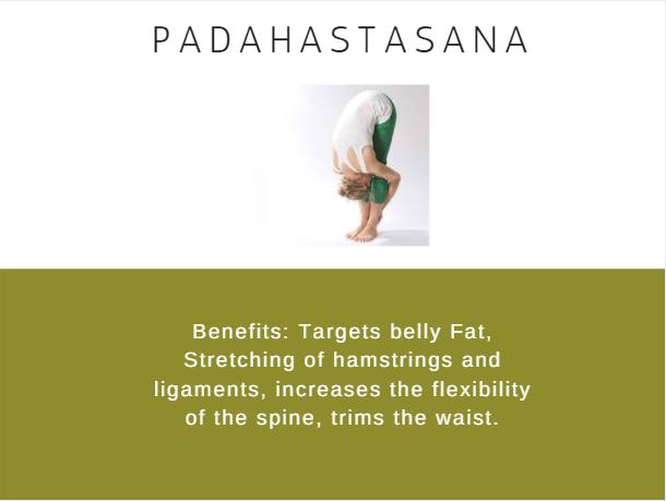 Padahastasana- Ramdev baba yoga for weight loss