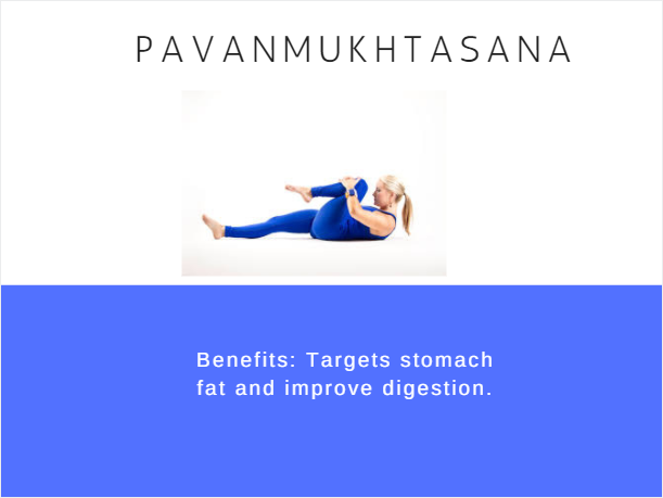 Pavanmukhtasana- Ramdev baba yoga for weight loss