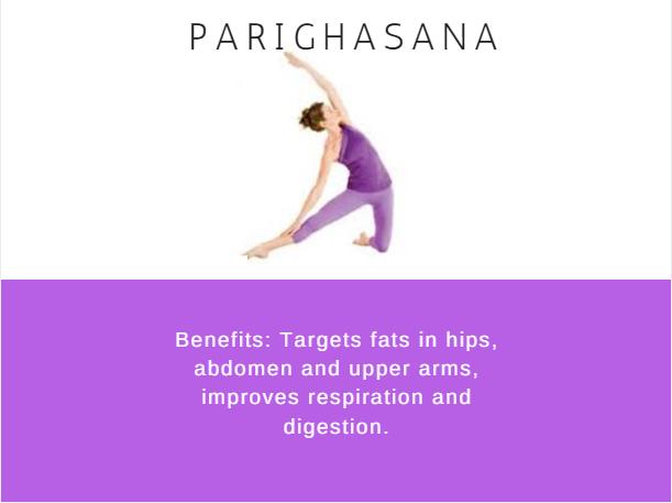 Parighasana- Ramdev baba yoga for weight loss