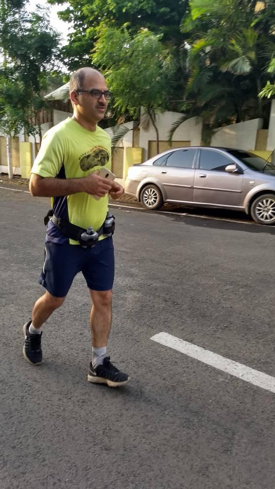 ranish tawalkar : fitso help in running