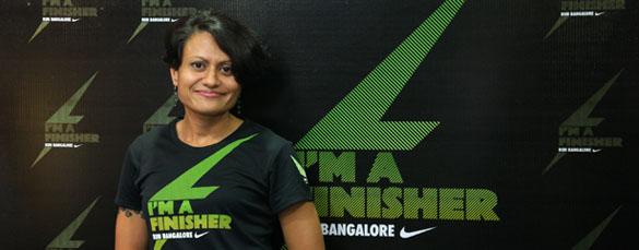 Neera Katwal - running coach in Bangalore