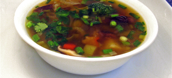 chinese veg trio soup for weight loss