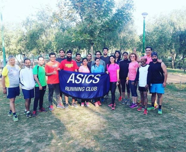 asics runner group