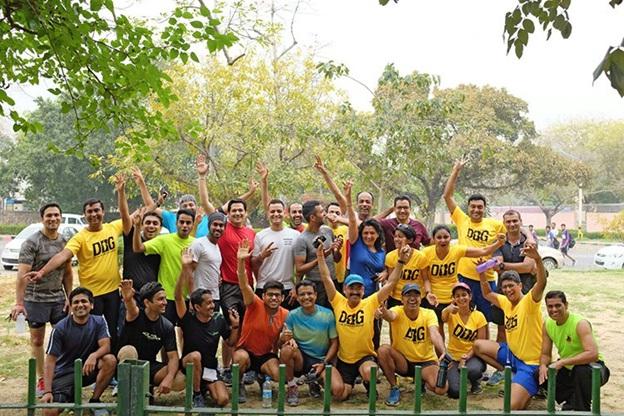 delhi runners group