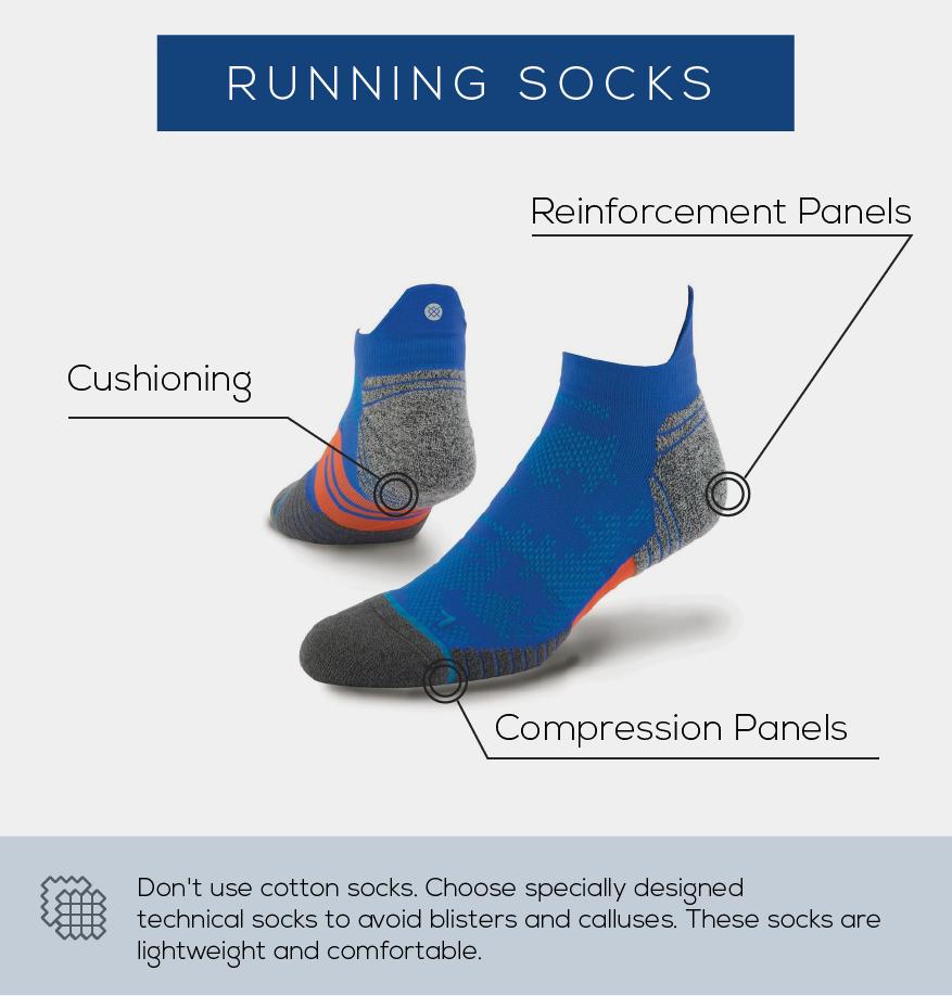 Running Guide for beginners in India - Socks