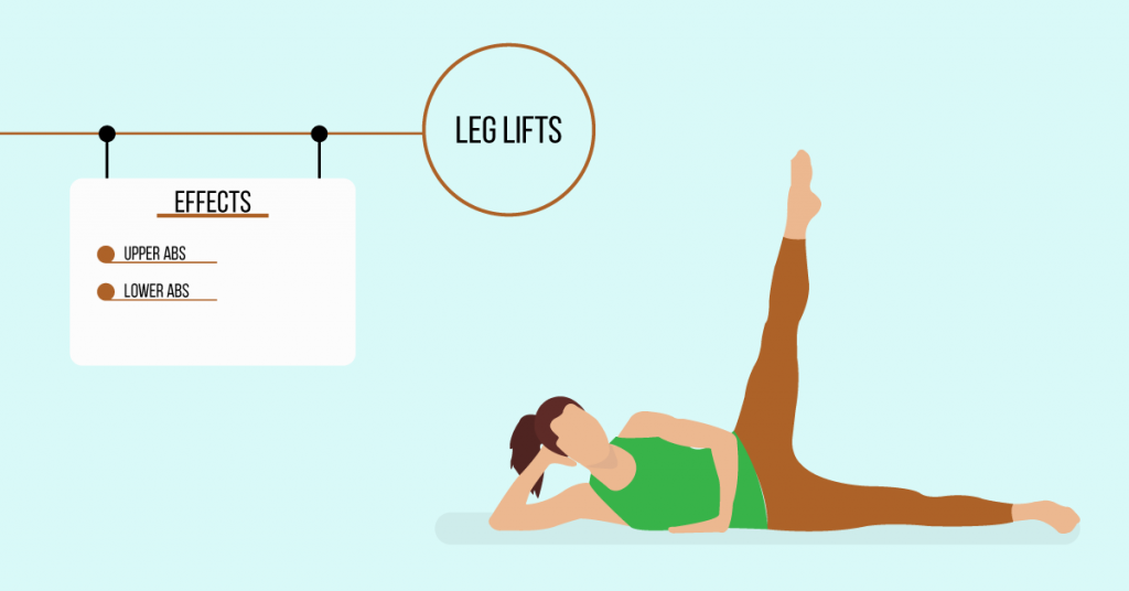 leg lifts: exercises for weight loss