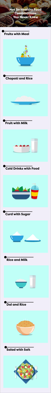 Not healthy food combination