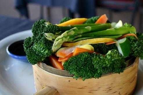boiled vegetables: chicken pox diet