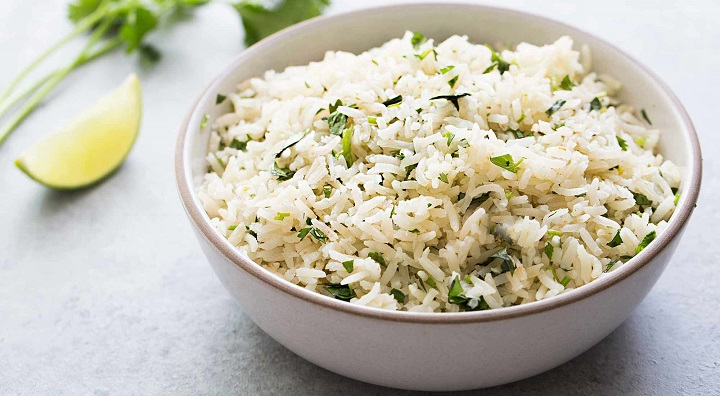 rice: diet tips for exam