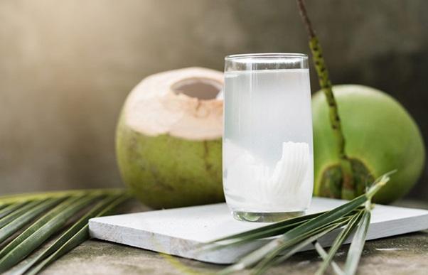 coconut water: chicken pox diet