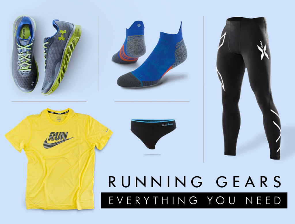 Running Guide for beginners in India - running gear