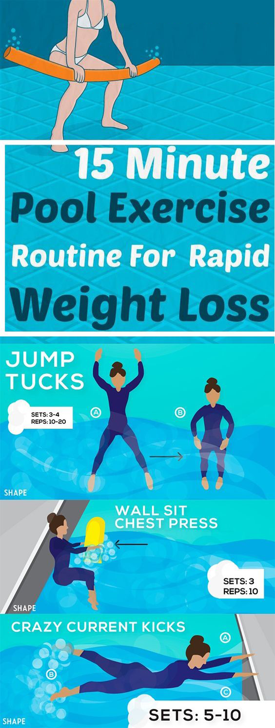 swimming tips for weight loss