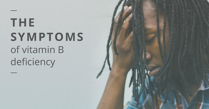 vitamin b deficiency symptoms