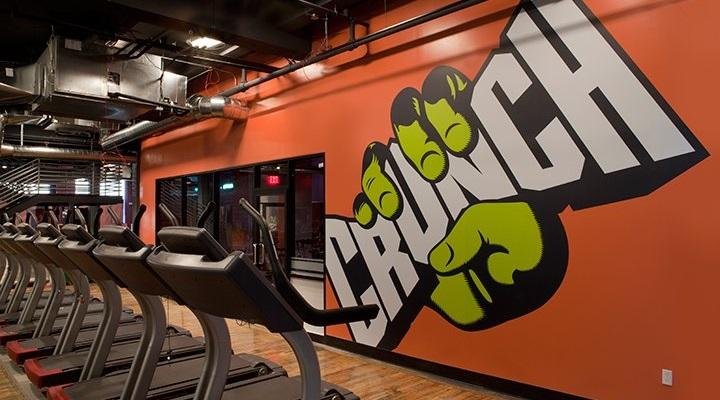 Crunch Gym: best gym in delhi
