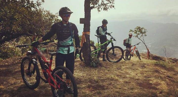 Cycling and trekking to Rajmachi Fort