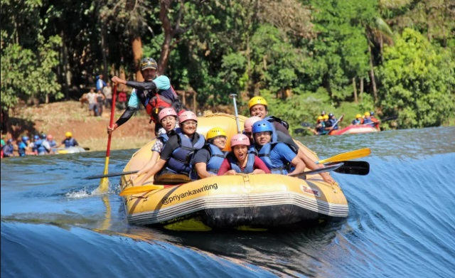 Dandeli: adventure places in hyderabad